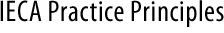 ieca-practice-principles